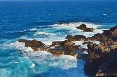 De Kustlijn van Maui stock fotografie