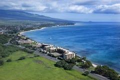 De kustlijn van Maui royalty-vrije stock fotografie