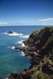 De kustlijn van Maui. royalty-vrije stock foto
