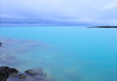 De Kustlijn van Mauritius Royalty-vrije Stock Afbeeldingen