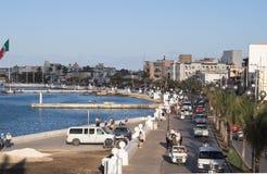 De kustlijn van Mexico van Cozumel Stock Afbeelding