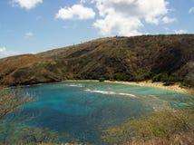 De Kustlijn van Oahu royalty-vrije stock foto's