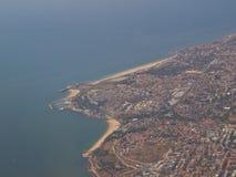 De kustlijn van Oeiras Royalty-vrije Stock Afbeelding