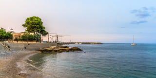 De Kustlijn van Palermo royalty-vrije stock afbeeldingen