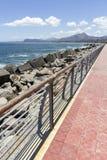 De Kustlijn van Palermo Royalty-vrije Stock Foto's