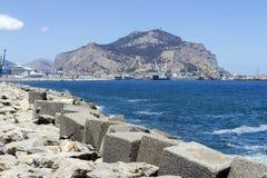 De Kustlijn van Palermo Royalty-vrije Stock Fotografie