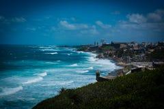 De Kustlijn van Puerto Rico stock fotografie