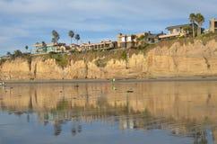De kustlijn van San Diego stock afbeeldingen