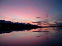 De kustlijn van Ushuaia Stock Foto