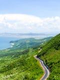 De kustlijn van Vietnam Stock Foto