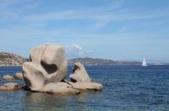 De kustmening van Sardinige Stock Foto's