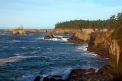De kustportret van Oregon royalty-vrije stock afbeeldingen