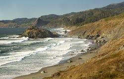 De kustportretten van Oregon royalty-vrije stock fotografie
