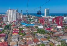 De kuststad van Batumi, Georgië royalty-vrije stock afbeeldingen