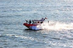 De Kustwacht Boat van Verenigde Staten royalty-vrije stock afbeelding