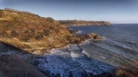 De kustweg van Wales in Swansea Royalty-vrije Stock Fotografie