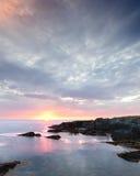 De Kustzonsopgang van Newfoundland Royalty-vrije Stock Foto