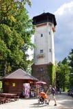De kuuroordstad Karlovy varieert, Tsjechische republiek, Europa Royalty-vrije Stock Foto