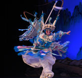 """De kvinnliga för Opera"""" för marskalkMu Guiying- Peking generalerna kvinnor av Yang Familyâ € fotografering för bildbyråer"""