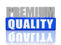 De kwaliteit van de premie Royalty-vrije Stock Afbeeldingen