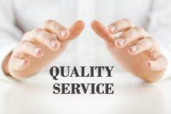 De kwaliteitsdienst Stock Afbeeldingen