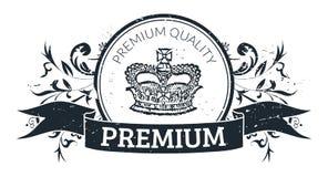 De kwaliteitszegel van de premie Royalty-vrije Stock Foto