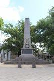 De Kyneton-cenotaaf, in Mollison-Straat, herdenkt hen van het district die in beide Wereldoorloggen werden gedood stock afbeelding