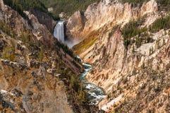 De lägre nedgångarna Yellowstone Royaltyfri Foto