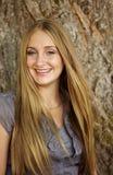 De l'adolescence blond magnifique Image libre de droits
