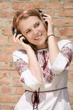 De l'adolescence et musique Images libres de droits