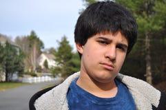 De l'adolescence fou Images libres de droits