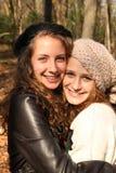De l'adolescence heureux Photographie stock