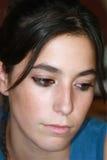 De l'adolescence triste Photo libre de droits
