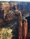 de l'Arizona de gorge national de de monument chelly Photo stock