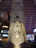 De l'Egypte dans la ville qui ne dort jamais image stock