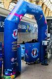 De-l'EURO 2016 La Tournée du Trophée Lizenzfreies Stockbild