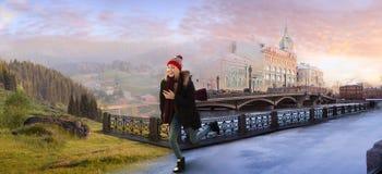 De l'hiver à l'été Photographie stock libre de droits