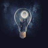 De l'intérieur de l'idée Image libre de droits
