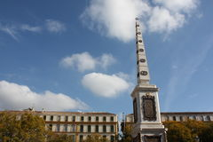 de la马拉加merced广场西班牙 库存图片
