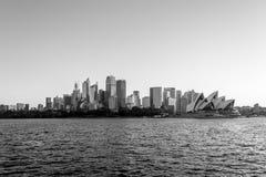 De la baie de Watsons à CBD à Sydney photos stock