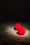 De la bola todavía de la Navidad vida roja Imágenes de archivo libres de regalías