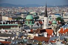 De la catedral del St Stephen de Viena imagen de archivo