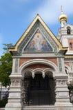 De la catedral ortodoxa rusa en Viena Imágenes de archivo libres de regalías
