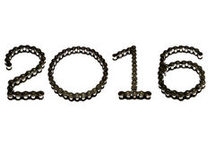 2016 de la chaîne Image stock