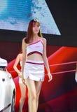 ` De la Chine XI un modèle de salon de l'Auto Images stock