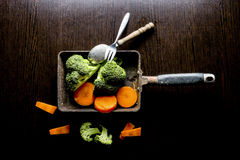 De la comida todavía del estilista vida Imagen de archivo