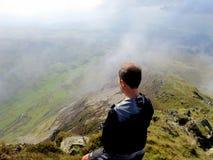 De la cumbre de Cnicht, Snowdonia Fotos de archivo