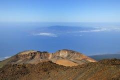 De la cumbre de Teide (los 3718m) Imagenes de archivo