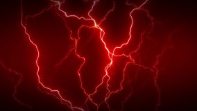 De la electricidad rojo por completo