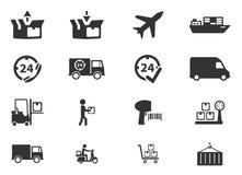 De la entrega iconos simplemente Foto de archivo